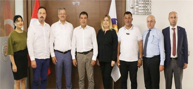MTOSB Yöneticilerinden, Tarsus TSO'ya Ziyaret