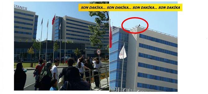 Mersin Şehir Hastanesi'nde intihar girişimi