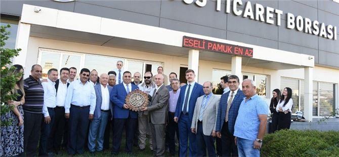Tarsus Ticaret Borsası'nda İstişare Toplantısı