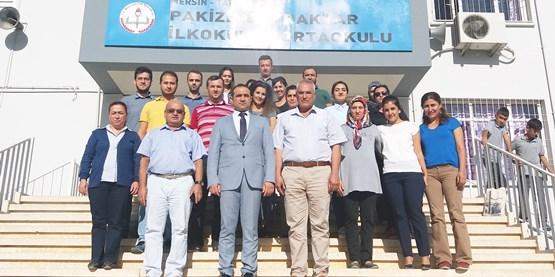 Mehmet Kalaycı, Pakize Bayraktar İlk/Ortaokulu 'nu ziyaret etti