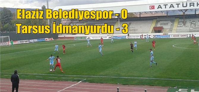 Tarsus, dört hafta sonra Elazığ'da güldü: 0-3