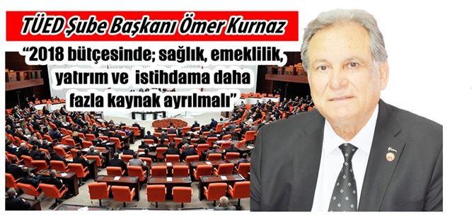 Başkan Kurnaz'dan bütçe açıklaması