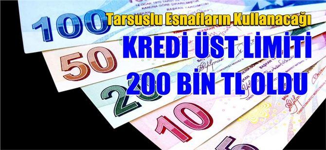 Kredi Üst Limiti 200 Bin TL Oldu