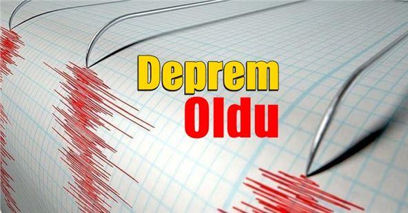 Akdeniz'de 4.4 şiddetinde deprem oldu