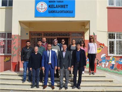 Müdür Kalaycı, Kelahmet, Alifakı ve Çayboyu okullarında