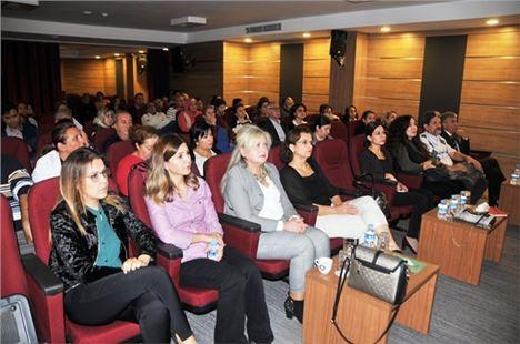 Tarsus'ta sağlıkçılara diyabet semineri verildi