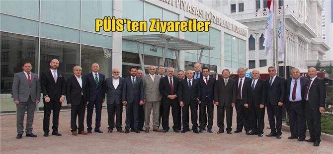 PÜİS Heyeti'nden EPDK Başkanı Mustafa Yılmaz'a Ziyaret