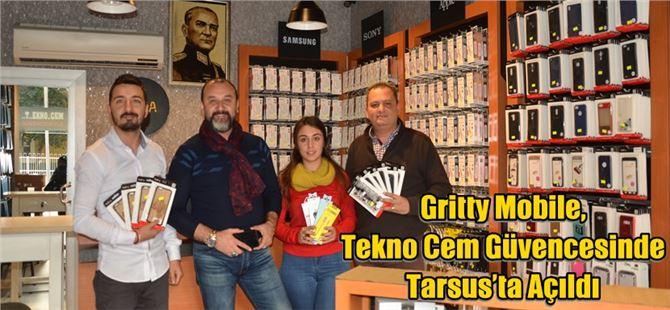 Gritty Mobile, Tekno Cem Güvencesinde Tarsus'ta Açıldı