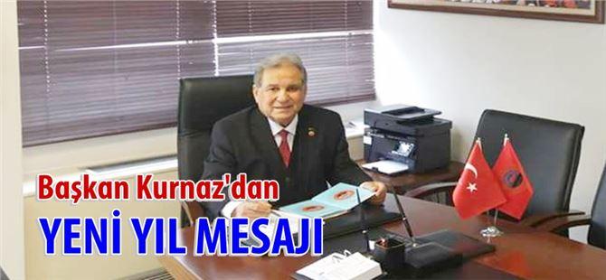 Başkan Ömer Kurnaz'dan yeni yıl mesajı