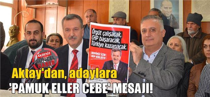 Adil Aktay, CHP İl Başkanlığına Adaylığını Tarsus'ta Açıkladı