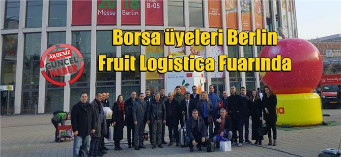 Borsa üyeleri Berlin Fruit Logistica Fuarında