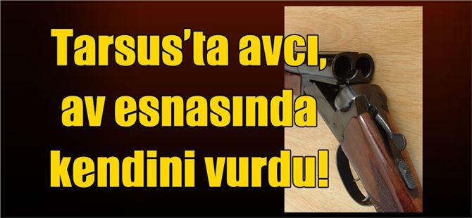Tarsus'ta avcı, av esnasında kendini vurdu!