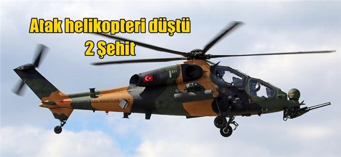 Afrin'de Atak helikopteri düştü: 2 şehit