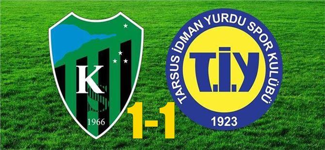 Tarsus İdmanyurdu, Kocaelispor ile 1-1 berabere kaldı
