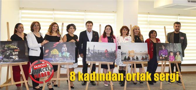 Tarsus'ta 8 kadından ortak sergi