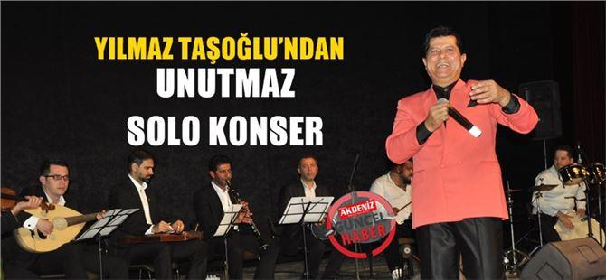 Yılmaz Taşoğlu, Tarsus'ta konser verdi