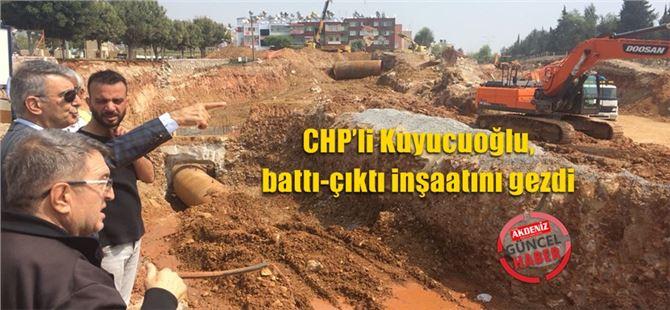 CHP'li Kuyucuoğlu, battı-çıktı inşaatını gezdi
