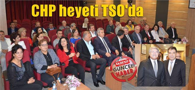 CHP'den Tarsus TSO'ya ziyaret
