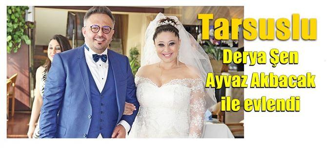 Elif dizisinde oynayan Derya Şen, Ayvaz Akbacak ile evlendi