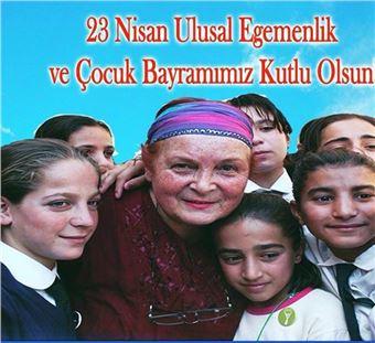 ÇYDD Tarsus Şubesi'nden 23 Nisan mesajı