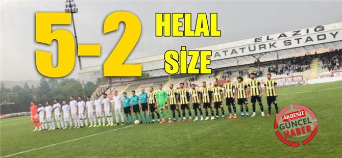 Tarsus, Elazığ'da finale uçtu: 5-2