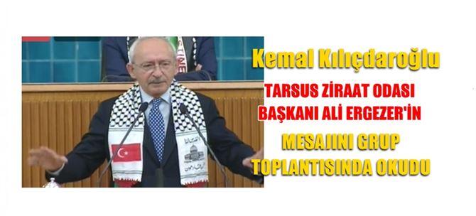Kılıçdaroğlu, Ergezer'in mesajını grup toplantısında okudu