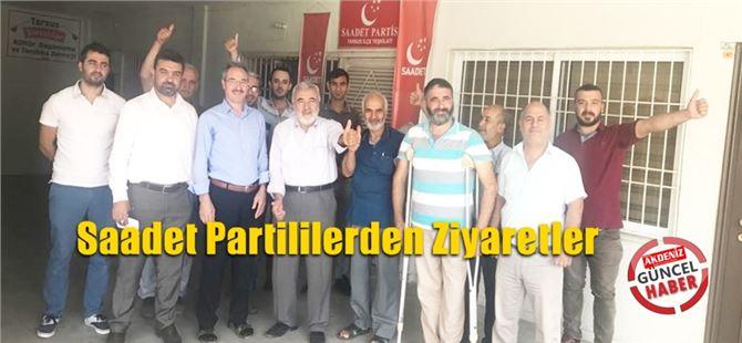 Saadet Partililerden Ziyaretler