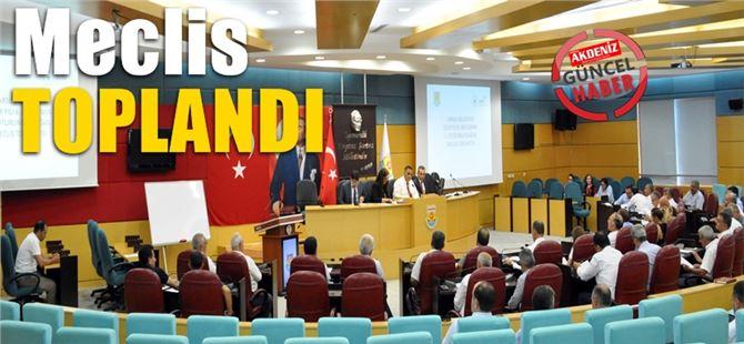 Tarsus Belediye Meclisi Haziran Ayı Toplantısını Gerçekleştirdi