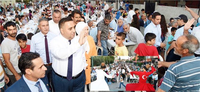 Başkan Can, iftarını Gazipaşa mahallesinde ki vatandaşlarla birlikte açtı