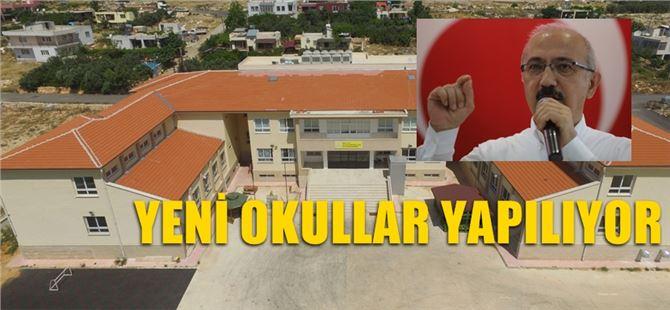 Mersin'e Yeni Okullar