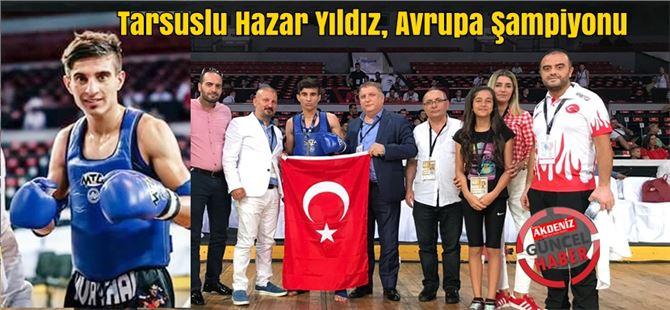 Tarsuslu Hazar Yıldız, Avrupa Şampiyonu