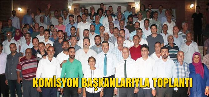 İbrahim Gül, mahalle komisyon başkanlarıyla toplantı yaptı