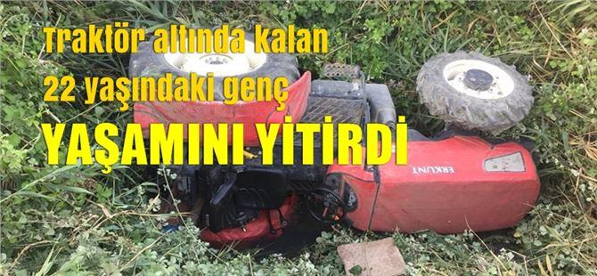 Tarsus'ta 22 yaşındaki genç traktör altında kalarak can verdi