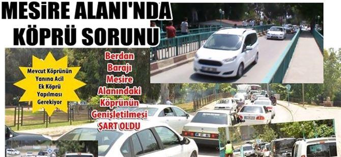 Tarsus Berdan Barajı mesire alanına acil ek köprü yapılmalı