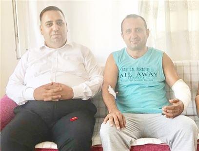 Başkan Can'dan Aydın Karaova'ya 'geçmiş olsun' ziyareti