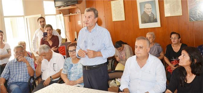 İstemihan Talay, Tarsus ilçe teşkilatında önemli mesajlar verdi