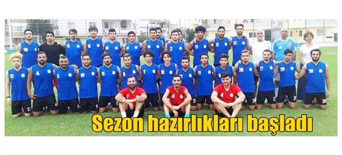 Tarsus Belediyespor Sahaya İndi