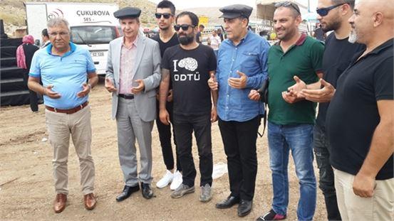 İstemihan Talay Boynuinceli Yörük Festivaline katıldı