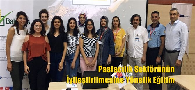 Pastacılık Sektörünün İyileştirilmesine Yönelik Eğitim