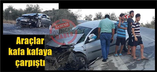 Tarsus-Çamlıyayla arasında kaza: 4 yaralı