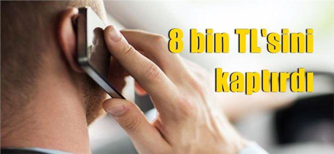 Tarsus'ta telefonla dolandırıcılık olayı