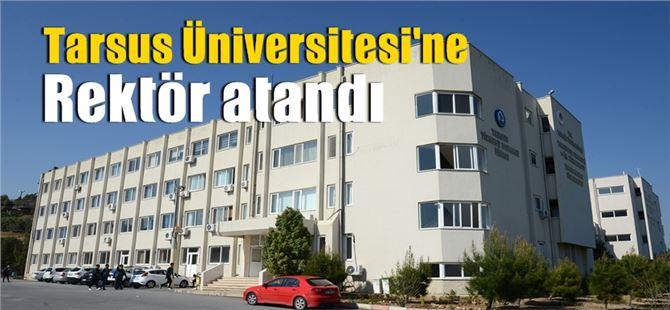 Tarsus Üniversitesi Rektörlüğüne Prof. Dr. Orhan Aydın getirildi