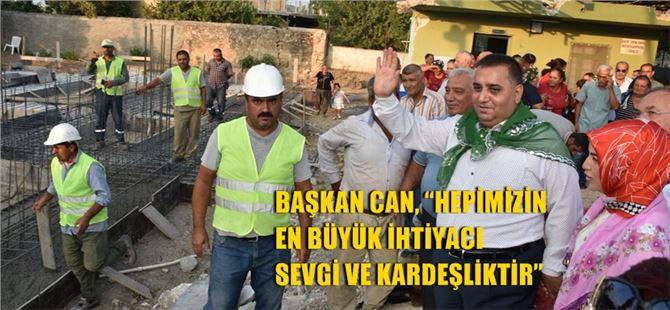 Tarsus Tekeliören Mahallesi Cemevi İnşaatının Temeli Törenle Atıldı