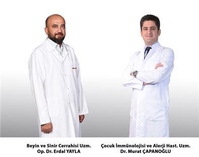 Op. Dr. Erdal Yayla ve Dr. Murat Çapanoğlu, Tarsus Medical Park'ta