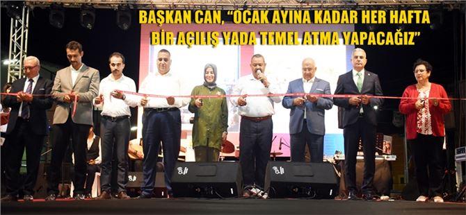 Tarsus Belediyesi'nden Gülek'te tesis açılışı