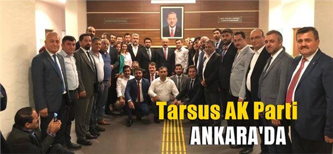 AK Parti Tarsus ilçe yöneticileri Elvan'ı ziyaret etti