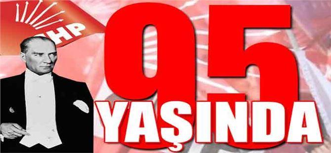 CHP İlçe Başkanı Ali İlk'ten 95. yıl mesajı