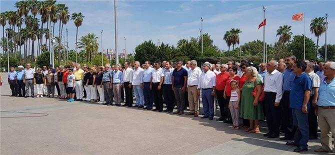 Mersin CHP'den kuruluş yıl dönümü töreni