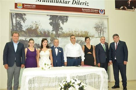 ZMO Şube Başkanı Karaoğlu Evlendi