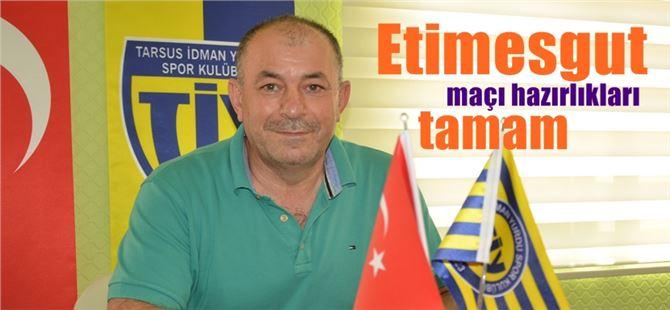 Tarsus, Etimesgut maçı hazırlıklarını tamamladı